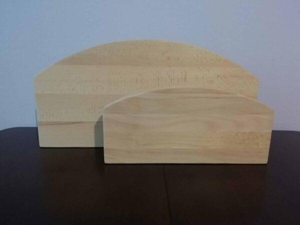 Большая и малая бортовые колодки с овальным краем
