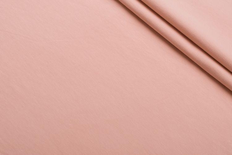 Розовый пудровый трикотаж