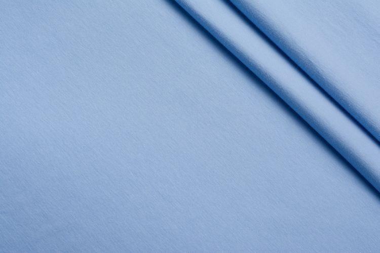 Светло-голубой трикотаж